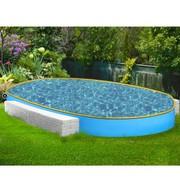 Овальный каркасный бассейн