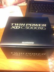 Катушка Shimano 17 twin power xd c5000xg
