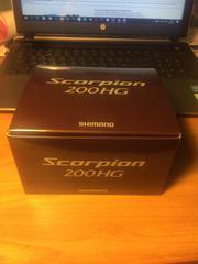 Катушка Мульт Shimano scorpion 200HG