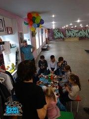 Спортивный День Рождения,  детский праздник на скейтах,  роликах и самок